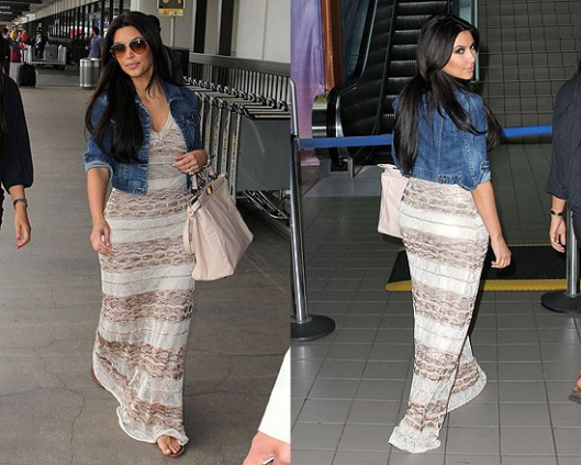 kim-kardashian-bebe-maxi-dress